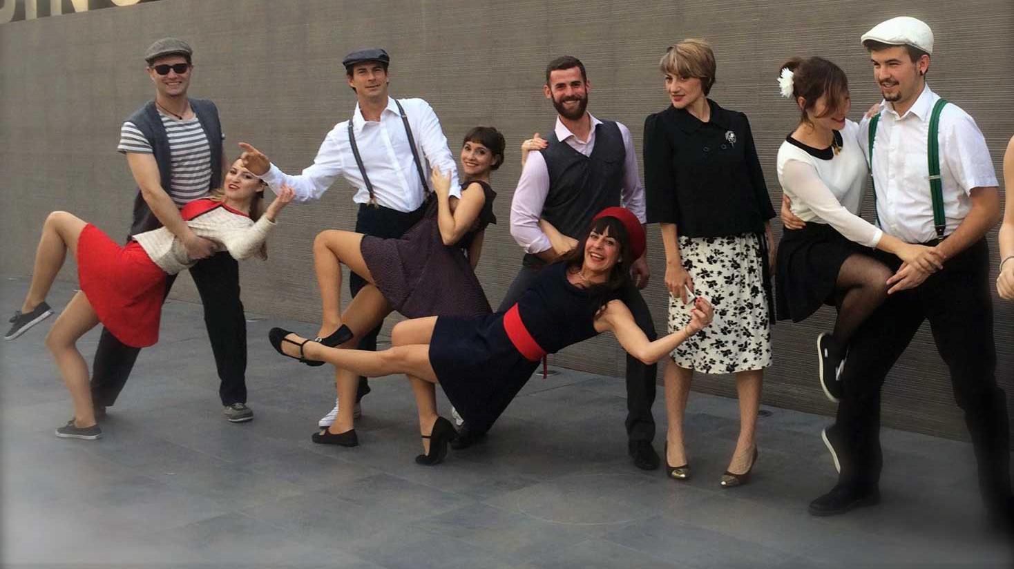 Pasacalles de Lindy Hop